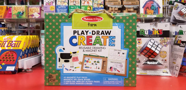 Play Draw Create: Reusable drawing & magnet set