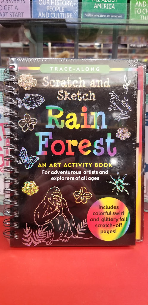 Scratch and Sketch: Rain Forest
