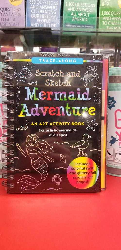 Scratch and Sketch: Mermaid Adventure