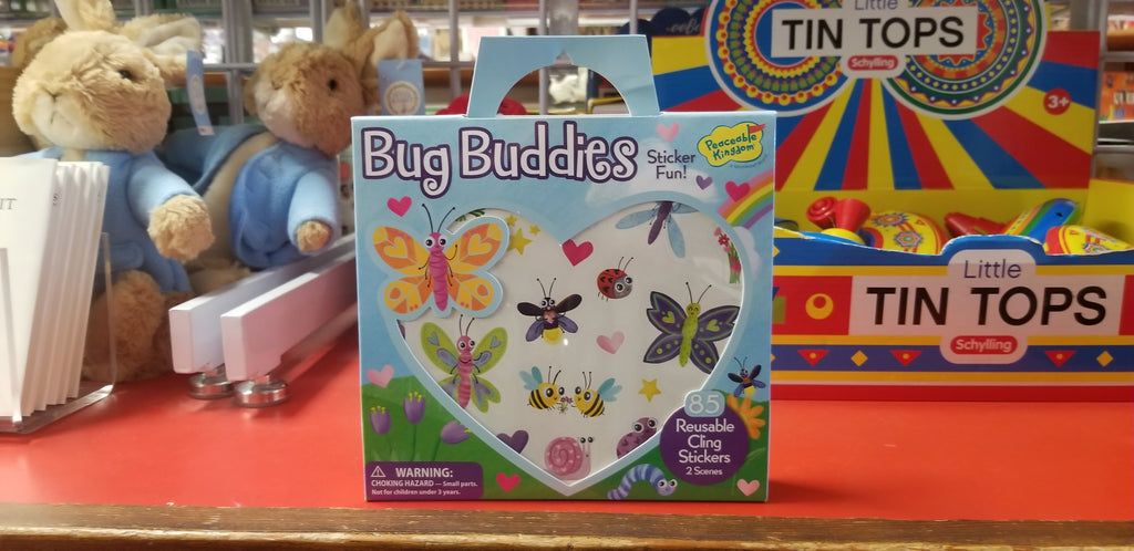 Bug Buddies Sticker Fun!