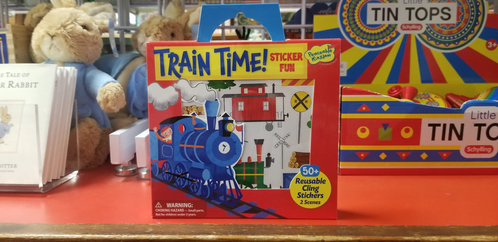Train Time Sticker Fun!