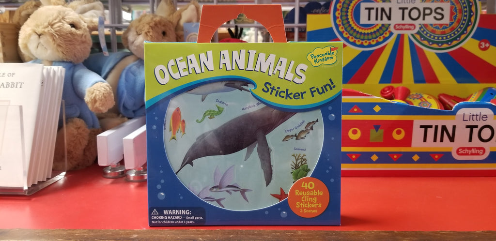 Ocean Animals Sticker Fun