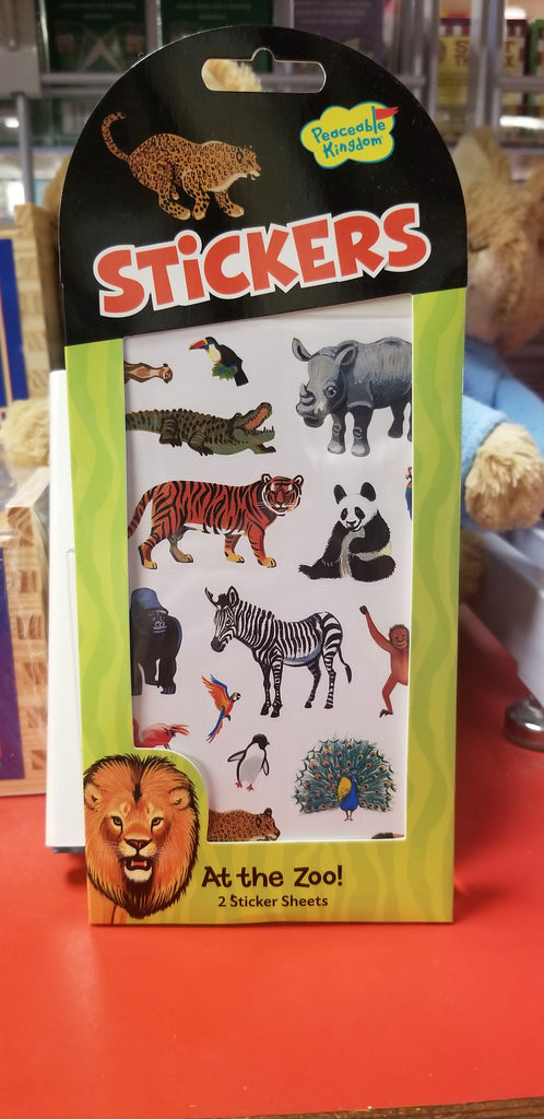 At the Zoo Stickers!