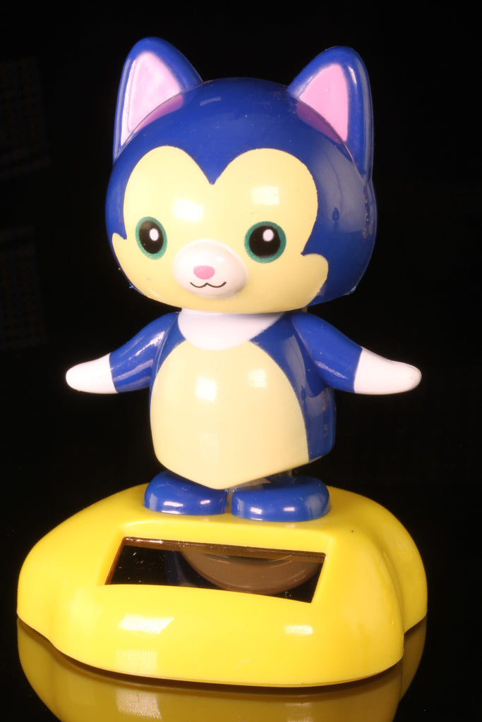 Solar Blue Cat Wobbler