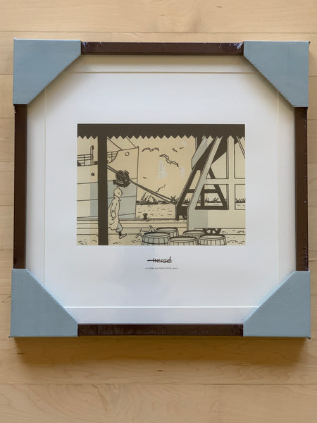 The Crab with the Golden Claws Framed Print, Limited Edition 1940