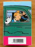 Tintin Cars Playing Cards
