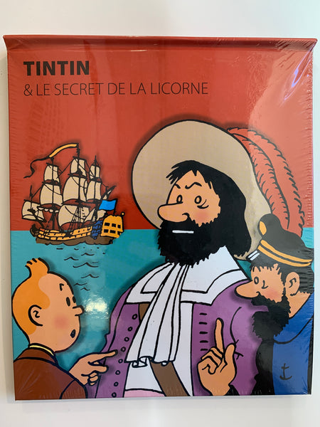 Tintin & Le Secret De La Lincorne Pop Up Book 2010