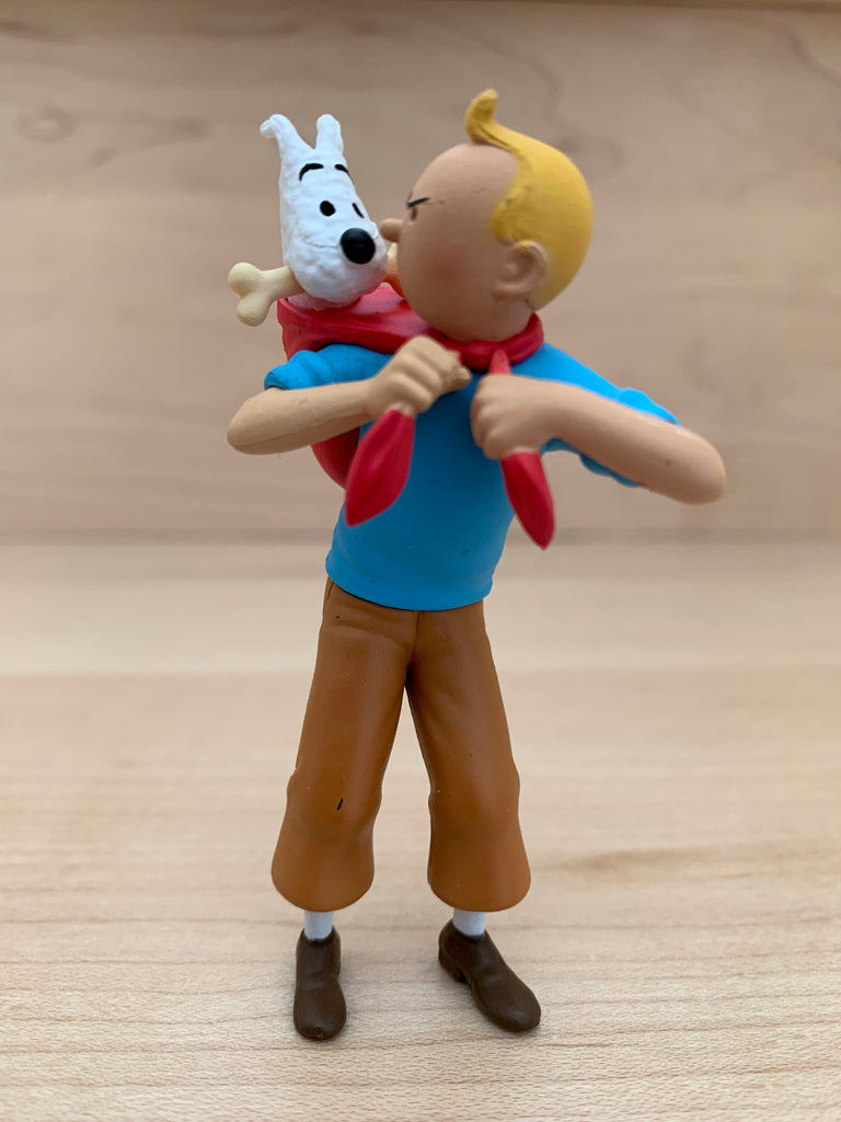Tintin Brings Snowy Back Mini Figure