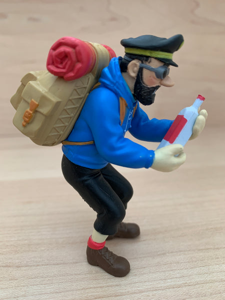 Captain Haddock and the Empty Bottle Mini Figure, Tintin in Tibet