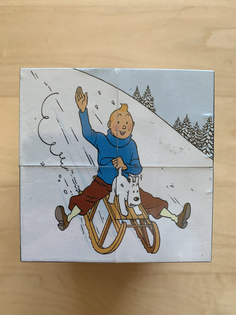 Tintin 2002 Christmas Cube Puzzle