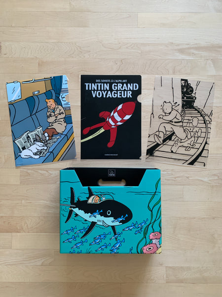 Tintin File Organizer Collection