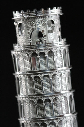 ICONX Leaning Tower Of PIsa Metal Model Kit