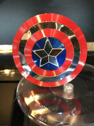 Metal Earth Captain America Shield Metal Model