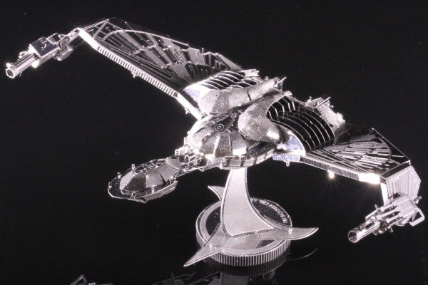 Metal Earth  Klingon Bird Of Prey Star Trek Metal Model Kit