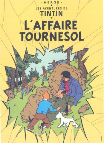Poster L`Affaire Tournesol