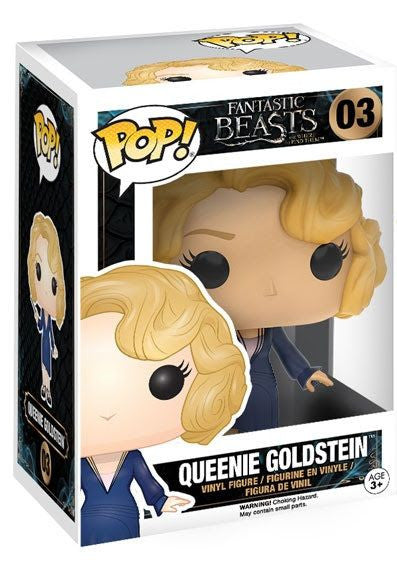 Funko Pop Movies, Fantastic Beasts and Where to Find Them, Queenie Goldstein #03