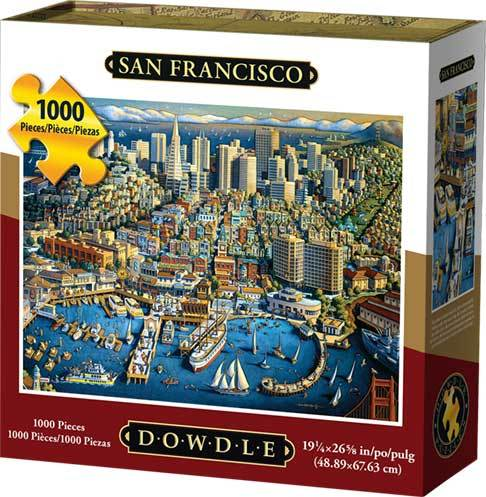 Dowdle San Francisco View Puzzle 500 pieces