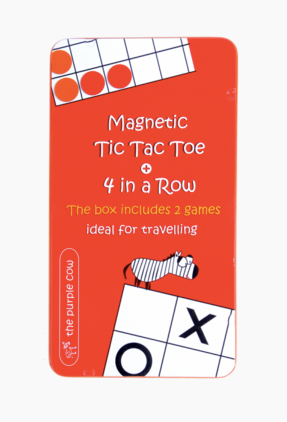 Magnetic Tic Tac Toe and 4 in a Row