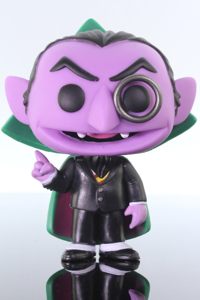 Funko Pop Television, Sesame Street, The Count #07