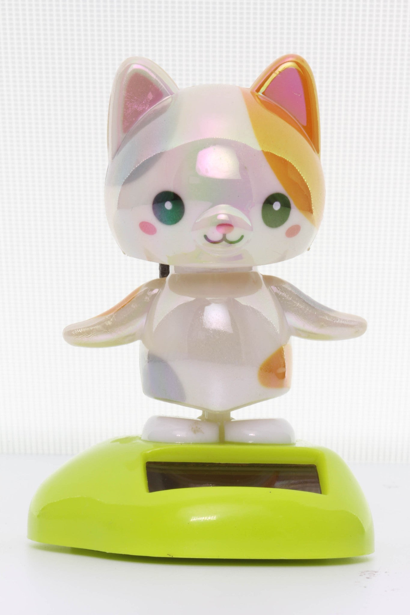 Solar Pearlescent Calico Cat Wobbler