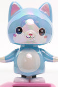 Solar Pearlescent Blue Cat Wobbler