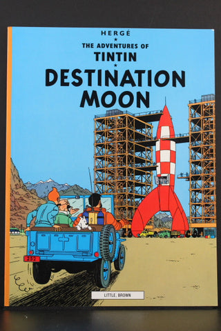 The Adventures of Tintin. Destination Moon