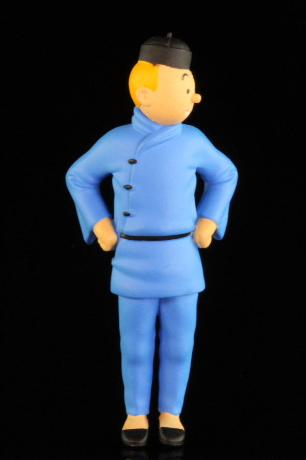 Tintin Blue Lotus Figure