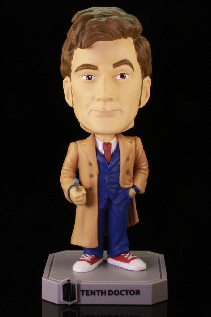 Funko Wacky Wobbler Bobble Head, Doctor Who, Tenth Doctor