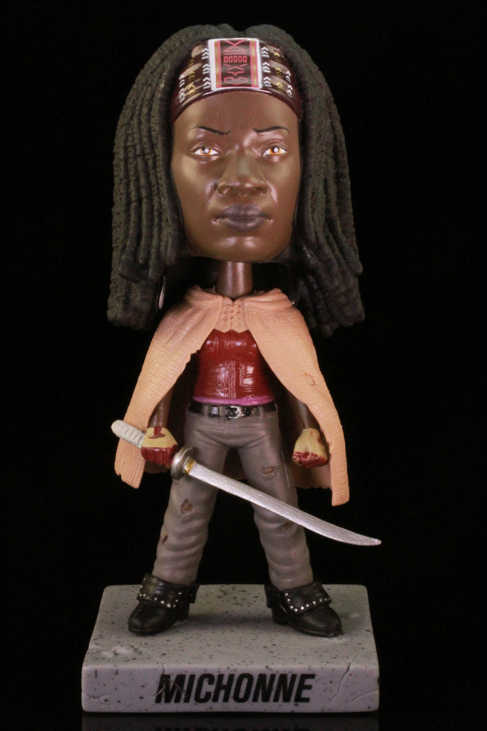 Funko Wacky Wobbler Bobble Head, Walking Dead, Michonne