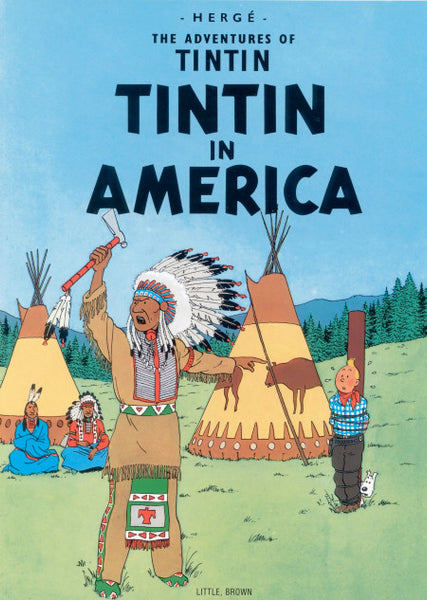 The Adventures of Tintin. Tintin in America