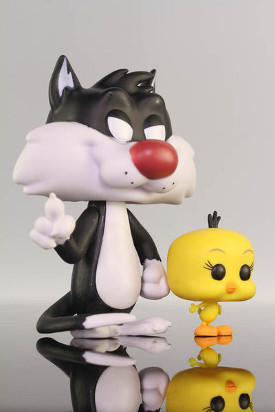 Looney Tunes-Sylvester and Tweety Funko Pop Animation