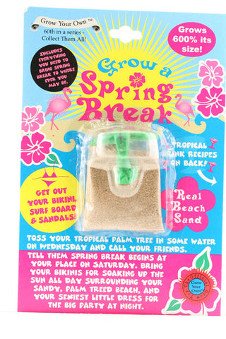 Grow Your Own Spring Break
