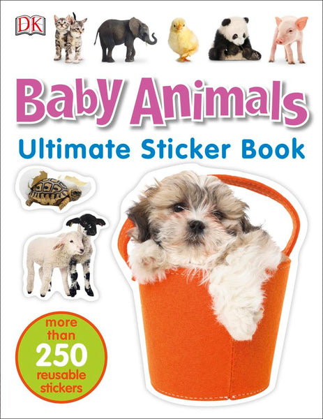 Baby Animal Ultimate Sticker Book