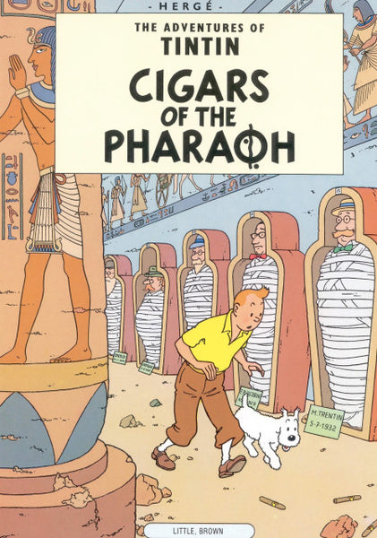 The Adventures of Tintin. Cigars of the Pharaoh