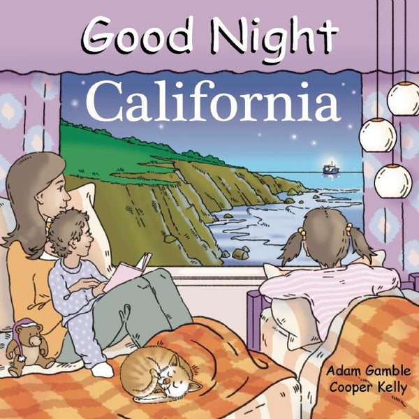 Good Night California Board Book