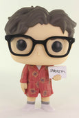 Funko Pop Television, The Big Bang Theory, Leonard Hofstadter In Robe #778