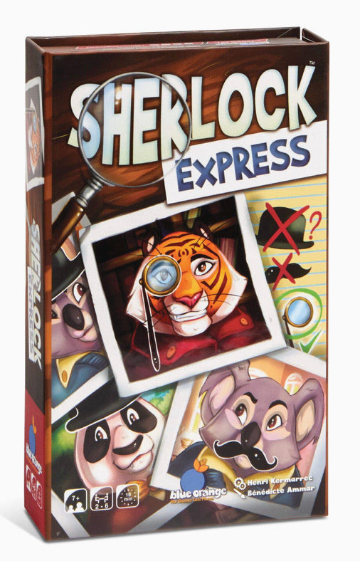 Sherlock Express Race To Solve The Mystery!