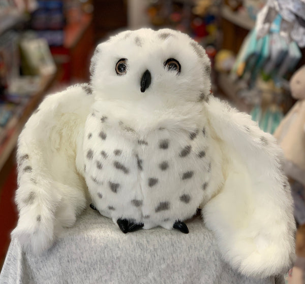 Folkmanis Snowy Owl Hand Puppet 21""