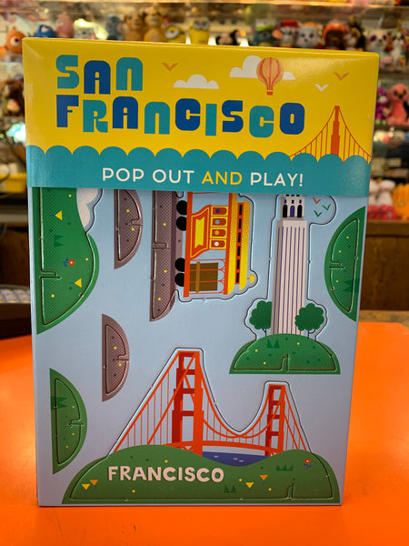 San Francisco's Pop Out And Play Diorama