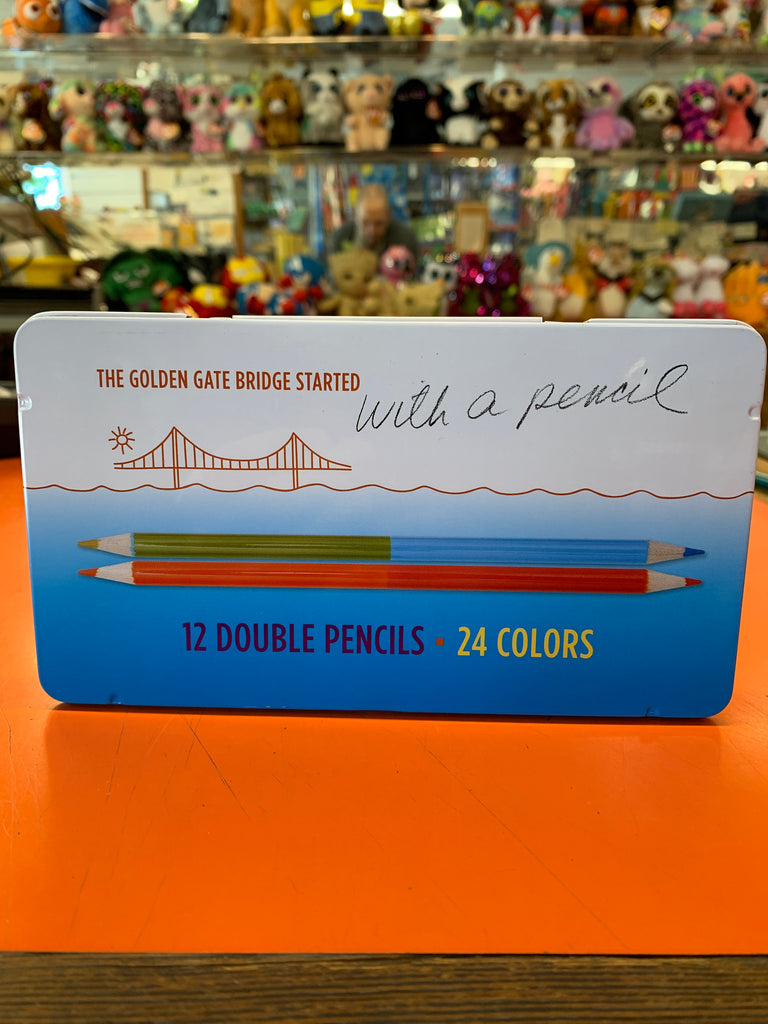 Golden Gate Bridge Dream Big Pencil Set
