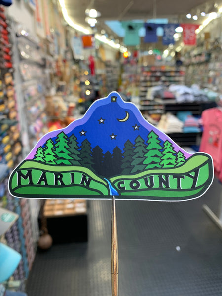 Marin County Sticker