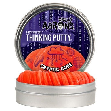 Crazy Aaron's Ghostwriters Thinking Putty Cryptic Code
