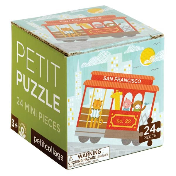 San Francisco Cable Car 24 Piece Mini Puzzle