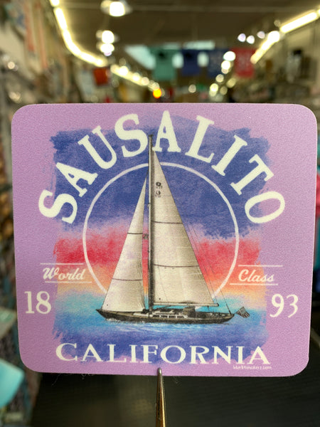 Sausalito World Class 1893 Sticker