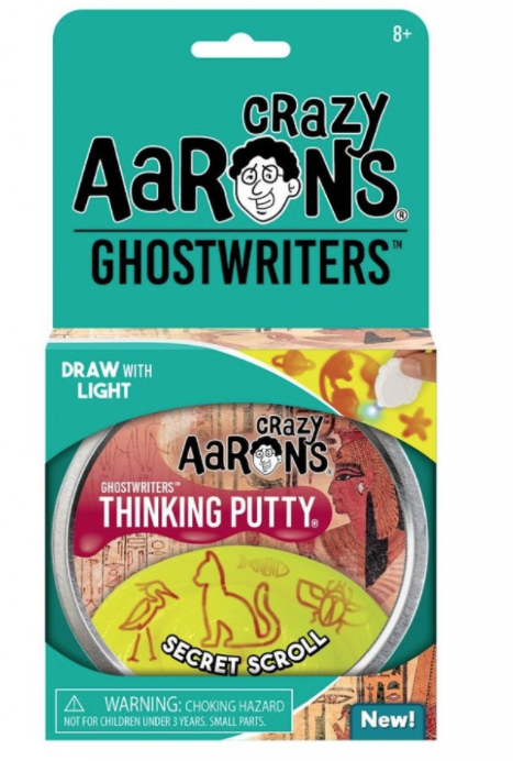 Crazy Aaron's Ghostwriters Thinking Putty Secret Scroll