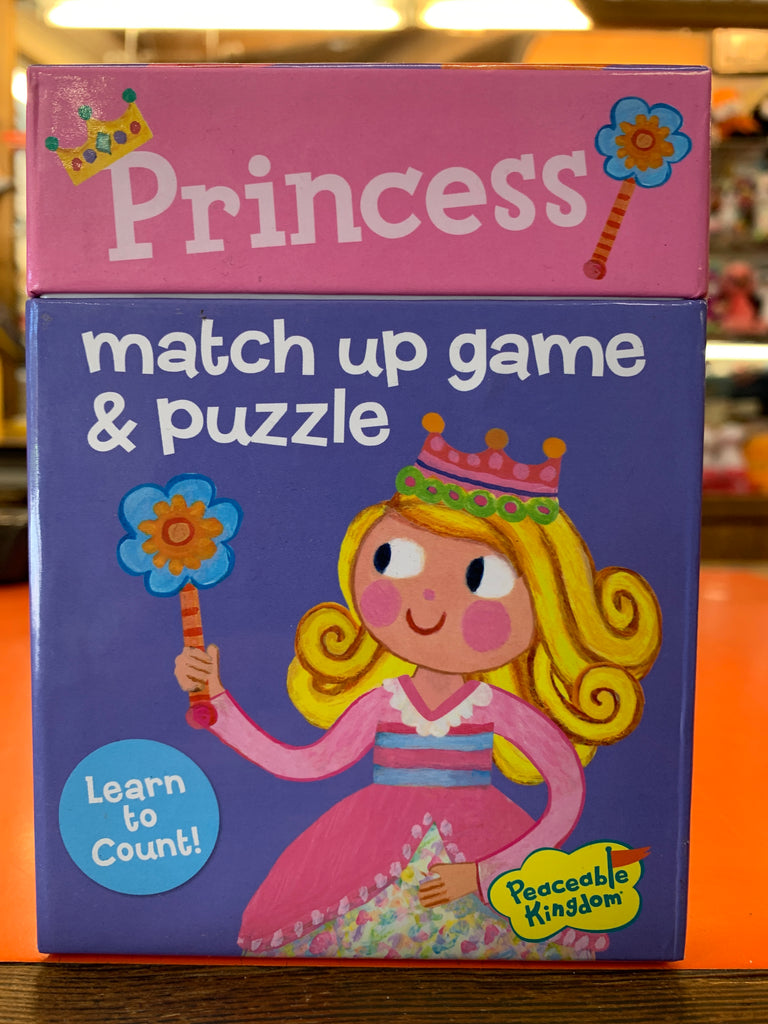 Princess Match Up Game And Puzzle