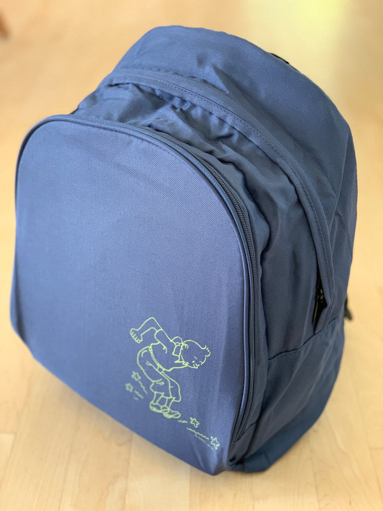 Blue Tintin Backpack