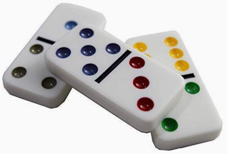 Dominos Double 6 Professional Color Dot