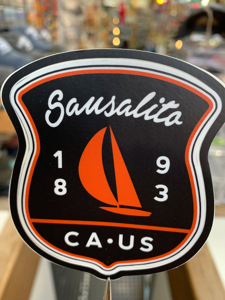 Sausalito 1893 CA US Sticker