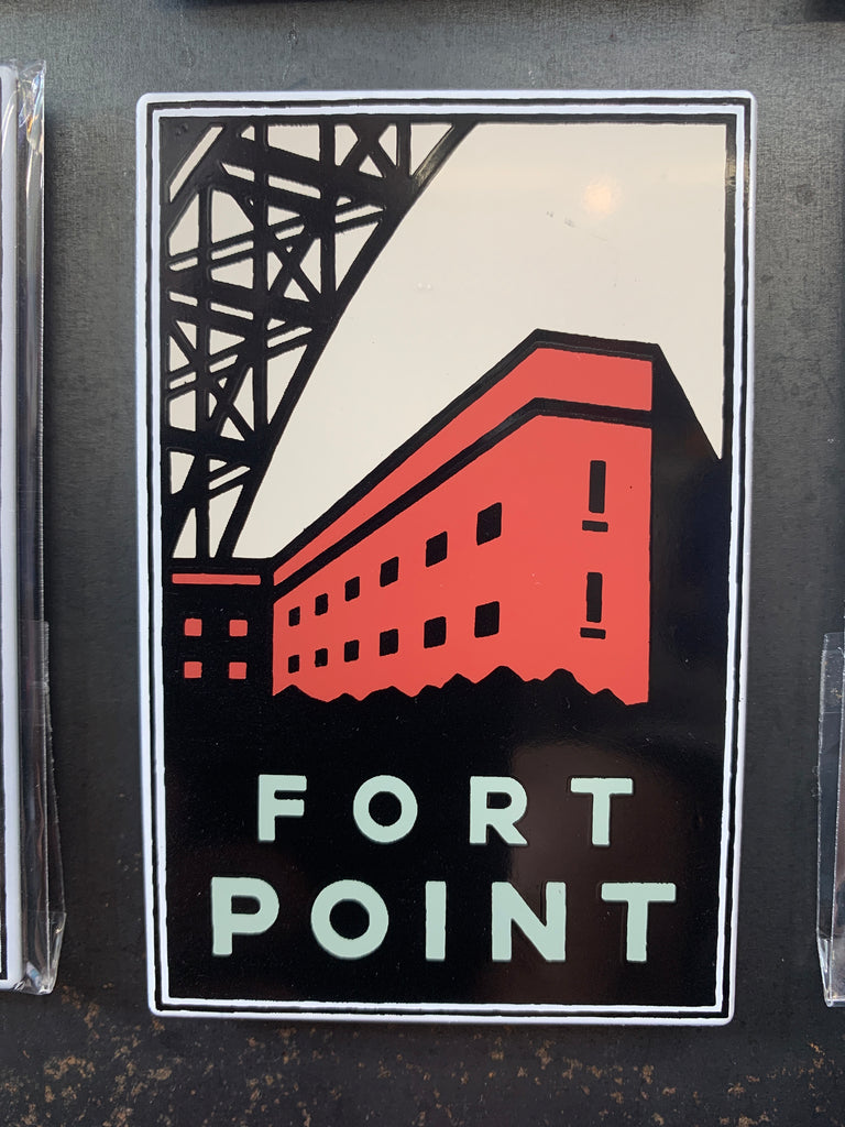 San Francisco Fort Point Magnet